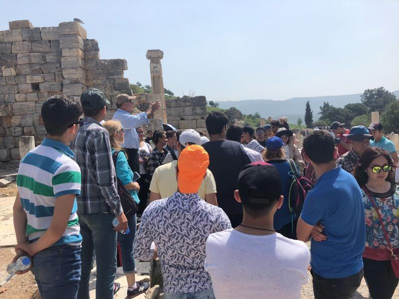 Okulumuz 11 Sınıf öğrencilerinin Selçuk Efes Antik Kenti şirince